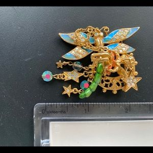 Kirks Folly Dragonfly Brooch/Pin